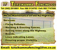Tzitzikamma Fencing cc