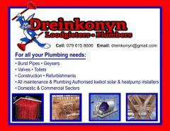 Dreinkonyn Loodgieters / Plumbers