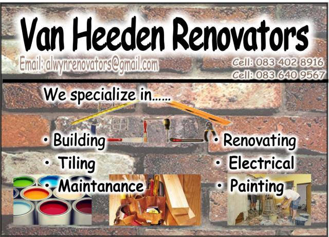 Van Heerden Renovators