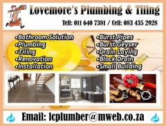 Lovemore's Plumbing & Tiling