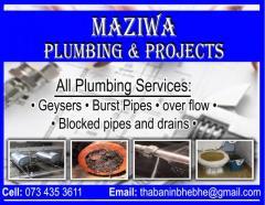 Maziwa Plumbing & Projects