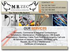 Mr Zec Electrical Contractors