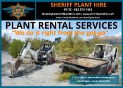Sheriff Plant Hire