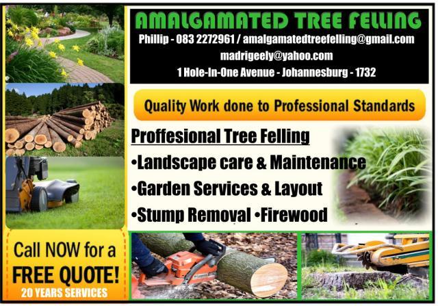 Amalgamated Tree Felling