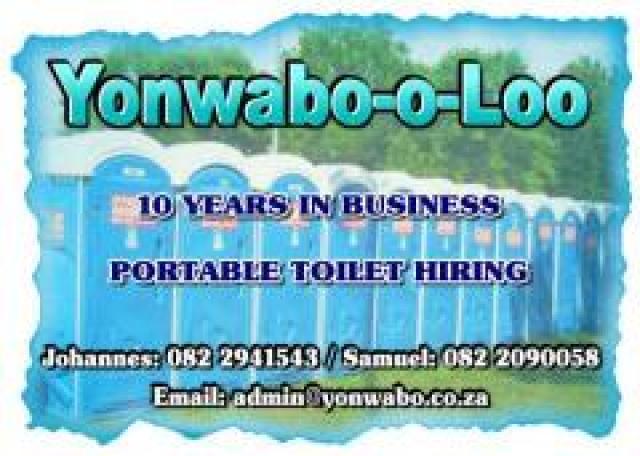 Yonwabo-o-Loo Portable Toilet Hiring