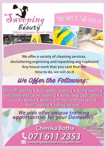 Sweeping Beauty