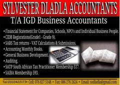 Sylvester Dladla Accounts T/A IGD Business Accountants
