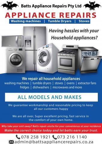 Batts Appliance Repairs Pty Ltd