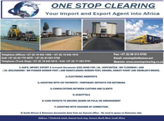 One Stop Clearing Zeerust - Business Directory