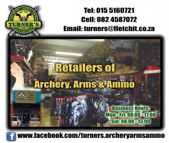 Turner's Archery Arms & Ammunition Louis Trichardt