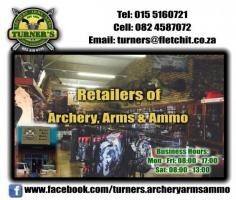 Turner's Archery Arms & Ammunition Louis Trichardt