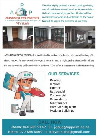 Assurance Pro Painting