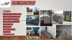 Moses Handyman And Installaion services