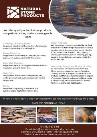 Natural Stone Products (PTY) LTD