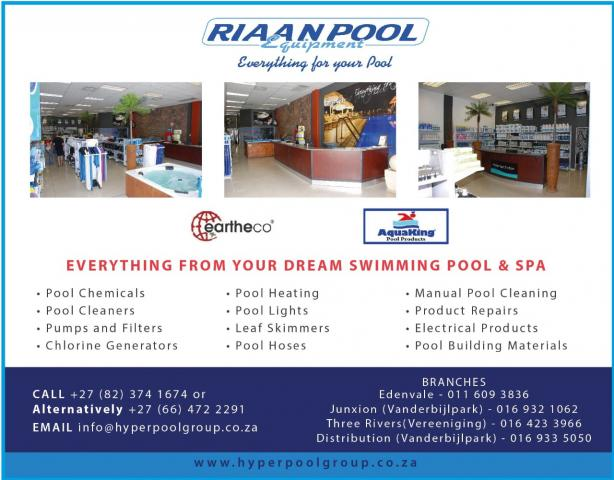 Riaan Pool Equipment