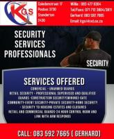 KGS SECURITY IN STANDERTON