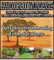 Haakdoornboom Tuindienste