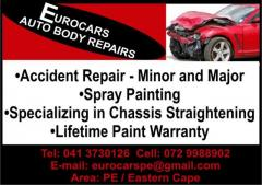 Eurocars Auto Body Repairs