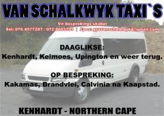 Van Schalkwyk Taxi`s