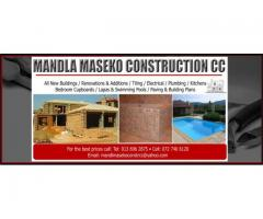 Mandla Maseko Construction cc
