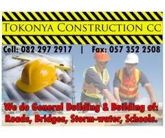 Tokonya Construction cc