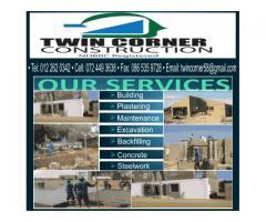 Twin Corner Construction