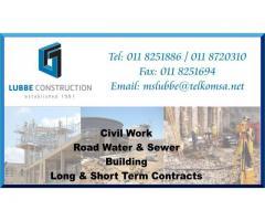 Lubbe Construction (Pty) Ltd