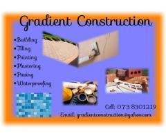 Gradient construction