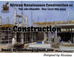 African Renaissance Construction Cc Contractors Directory