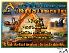 Bhaniza Construction