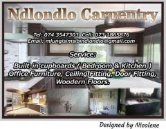 Ndlondlo Carpentry