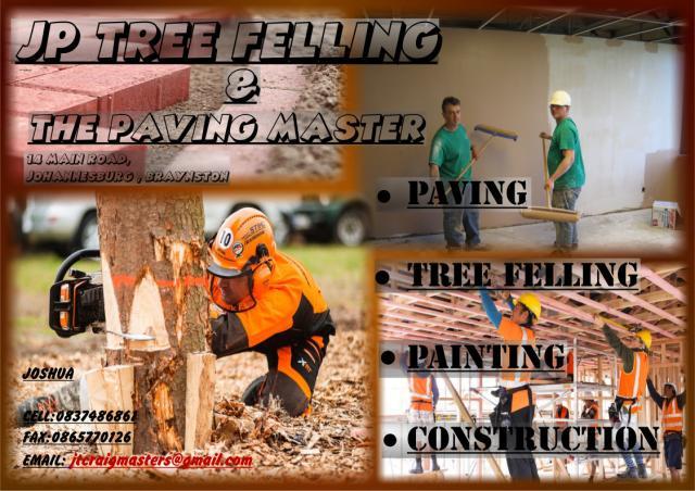 JP Tree Felling & The Paving Master