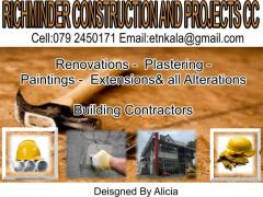 RICHMINDER CONSTRUCTION AND PROJECTS CC