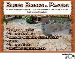 Blues Bricks & Pavers