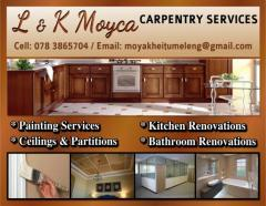 L & K Moyca Carpentry Services
