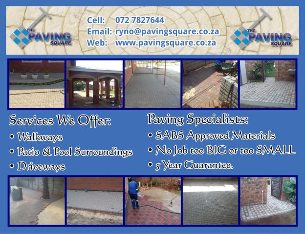 The Paving Square