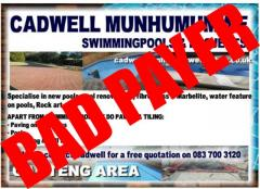 Cadwell Munhumuwe Swimming pools & Projects