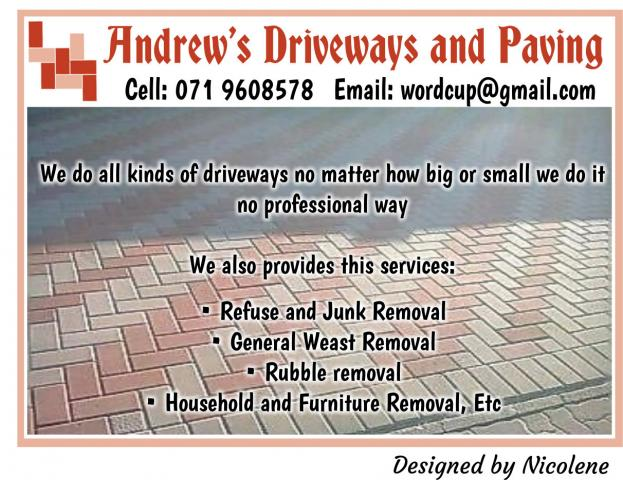Andrew's Driveways and Paving