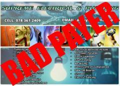 Supreme Electrical & Plumbing
