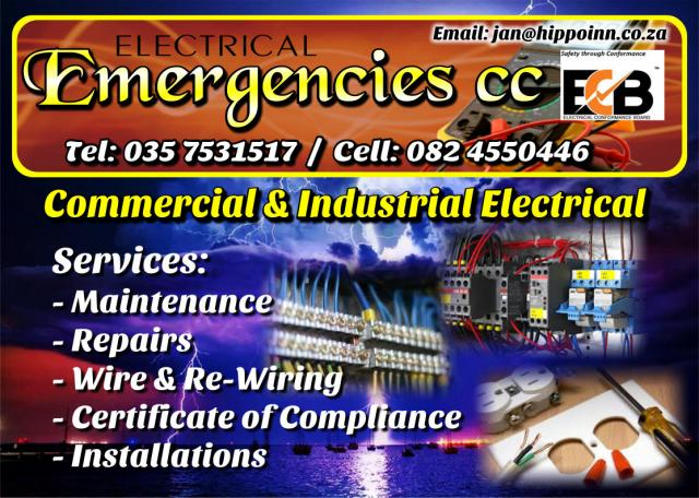 Electrical Emergencies cc