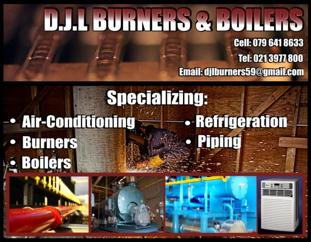D.J.L. Burners and Boilers