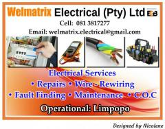 Welmatrix Electrical (Pty) Ltd