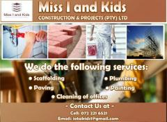 Miss I and Kids Construction & Projects(Pty)Ltd