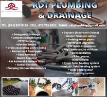 RDT Plumbing & Drainage