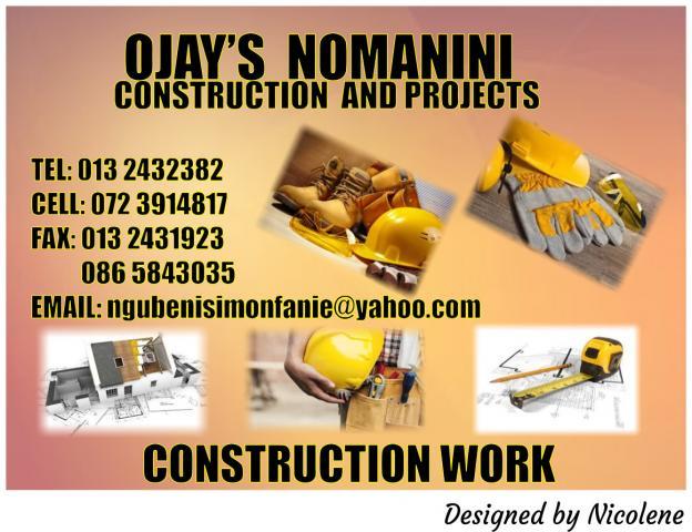O JAY'S Nomanini Construction and Projects