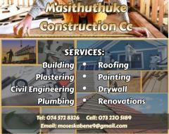 Masithuthuke Construction CC