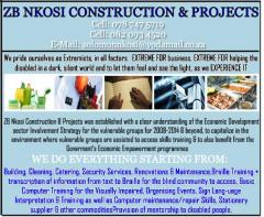 Z. B. Nkosi Construction and Projects