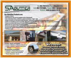 Sa Gutters Johannesburg Contractors Directory