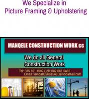 MANQELE CONSTRUCTION WORK cc