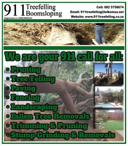 911 Treefelling Boomsloping